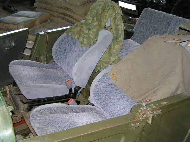Воткнул комплект сидений