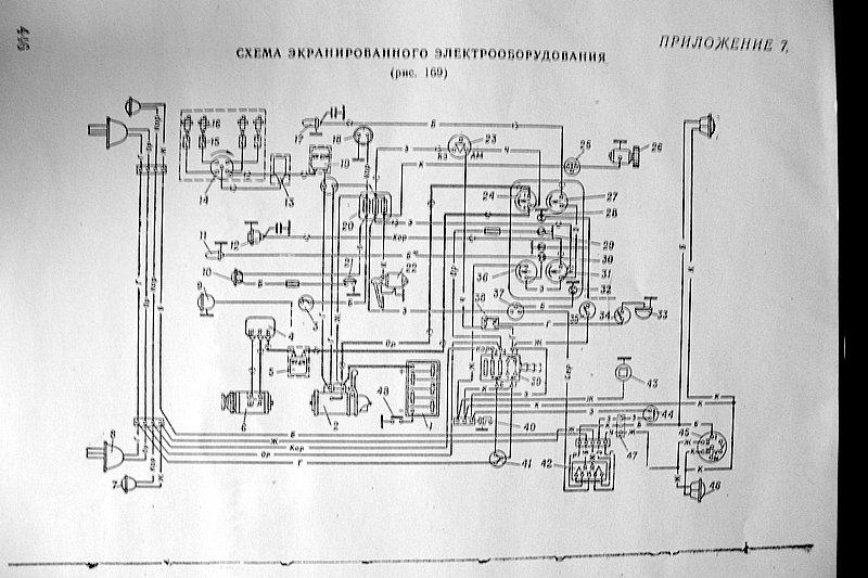 Схема экранированного электрооборудования
