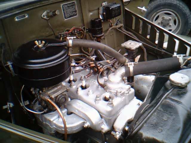 Silnik dolnozaworowy 2430ccm