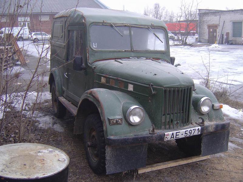 Начальное состояние - железо на 5+ несчитая сотни вмянин, двигатель-газ24, коробка, раздатка - УАЗ