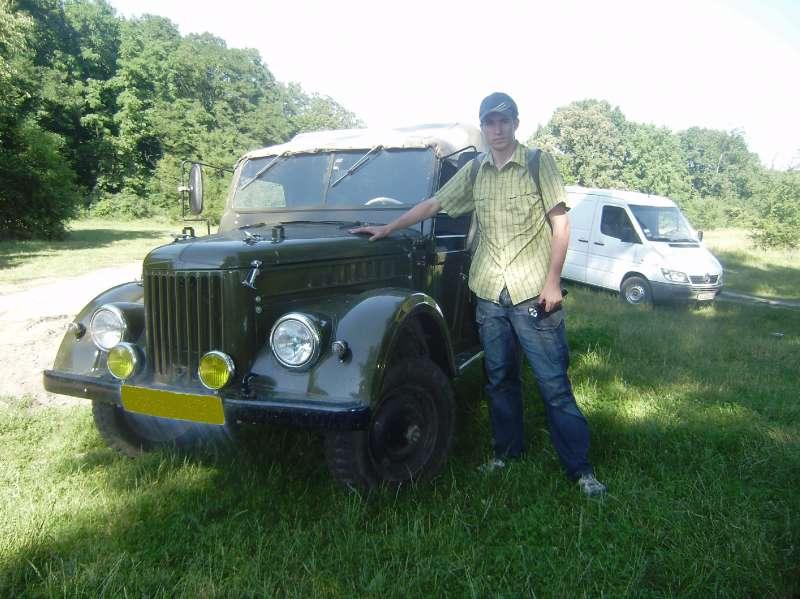 Мой сын и ГАЗ-69
