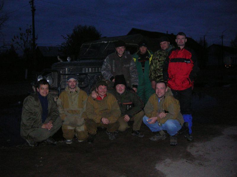 Поход на Рдей 2009