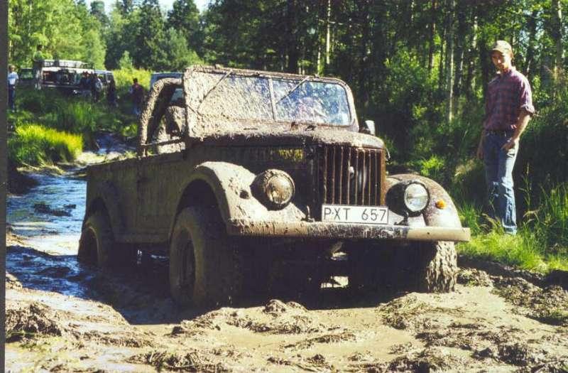 Ларс Ларссон, Швеция, в грязи