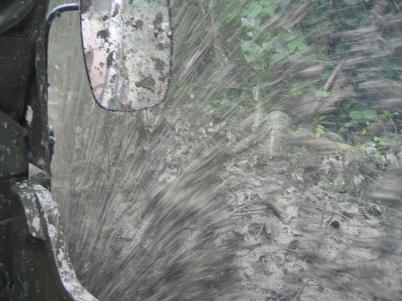 ... грязи было много ... очень много ...