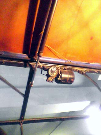 Механизм подъем лобового стекла (вид снизу)