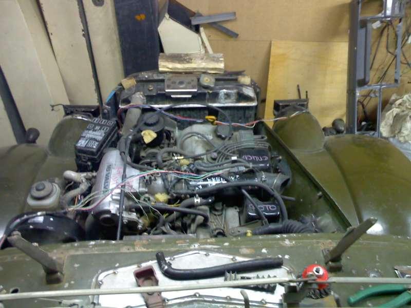 1. Двигатель 3RZ-FE