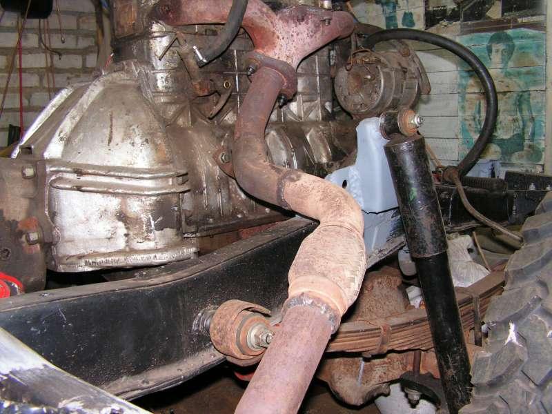 Гофра и части труб от Ауди