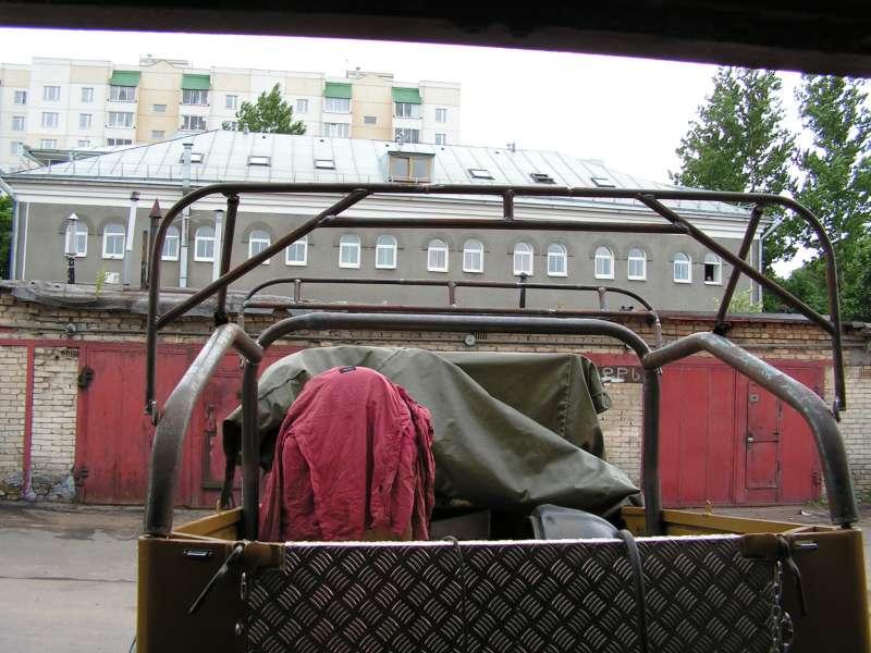 Каркас под стандартный тент ГАЗ-69.