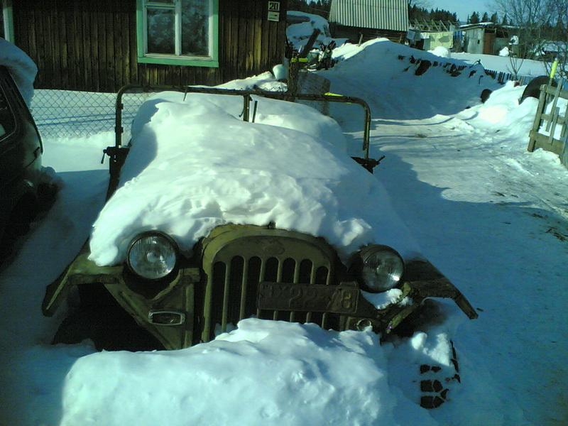 а так он выглядит зимой. 2007 год.
