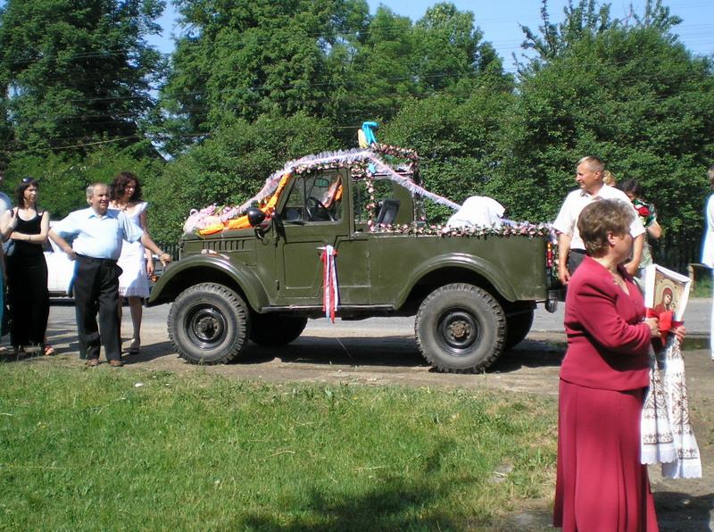 Свадьба на ГАЗ-69. 1