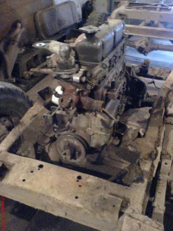 Двигатель спереди