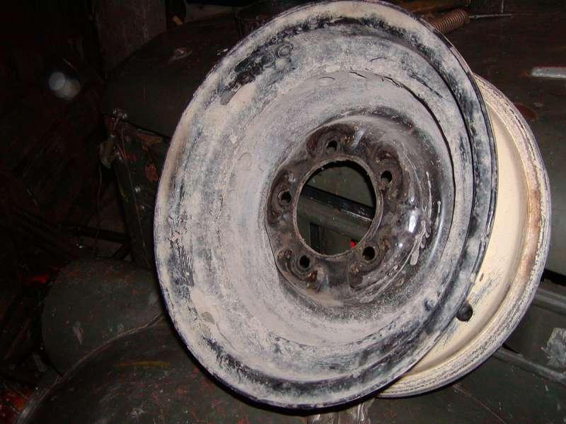 обращенный диск из УАЗ
