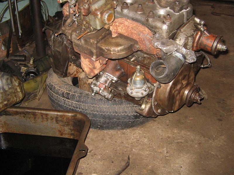 Двигатель перебрал, бензанасос новый, остальное ревезировалось...