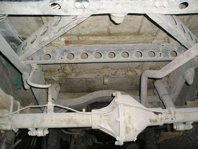 рама УАЗ-469