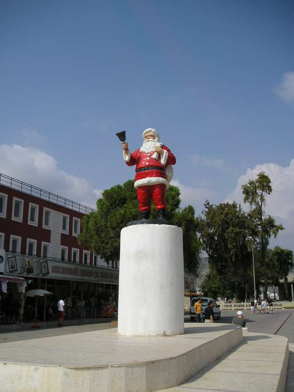 Санта Клаус. Турция 2007 год