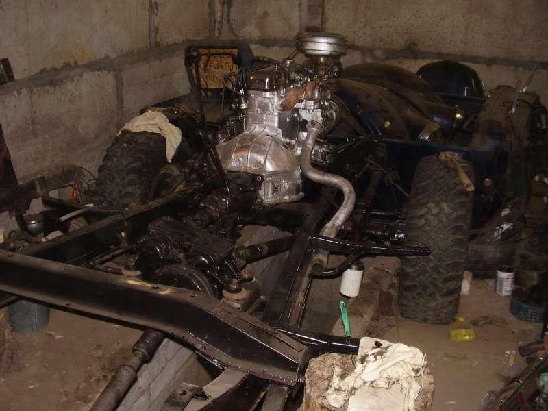 поставил двигатель