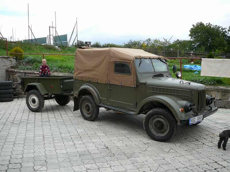 Самая любимая машина - конечно мой ГАЗ - 69М