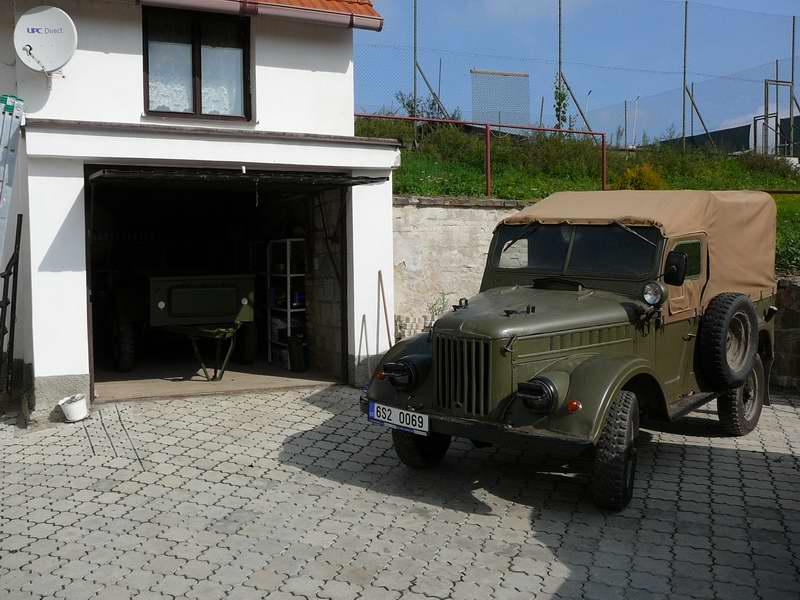 Мой ГАЗ - 69 и в гараже ГАЗ - 704