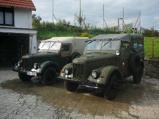 Moi GAZ-69M 1964 i GAZ-69-68M 1969