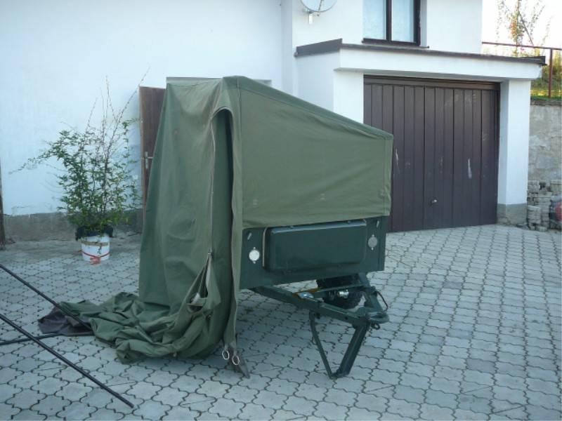"""палатка"" na GAZ-704"