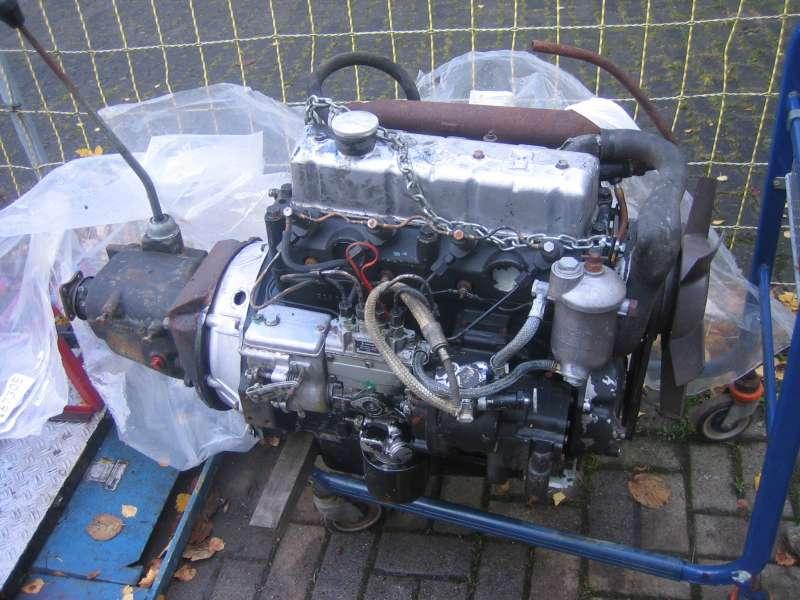 IFA-diselnyj motor w GAS 69,byl na wooruzenii w GDR,adaptornaja platak korobke GAS 69