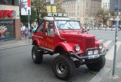 ГАЗик в Чехии