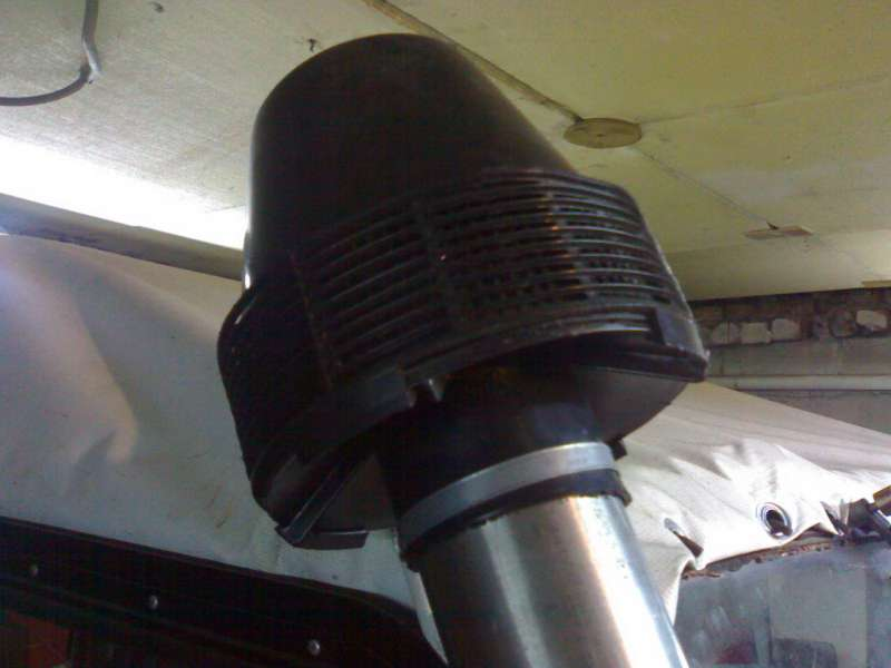 Моноциклон от трактора на Шноркеле