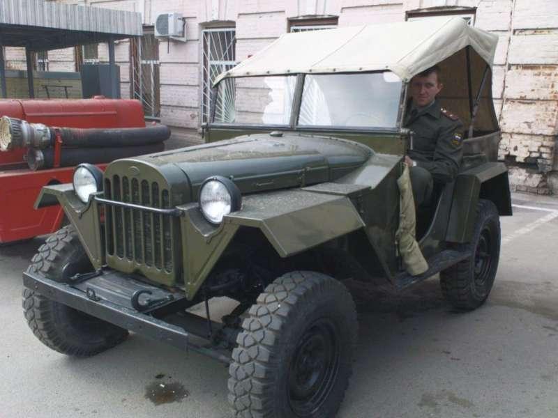ГАЗ-67 Переживет любую иномарку!