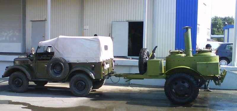 ГАЗ-69 с кухней