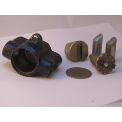 Цилиндр стояночного тормоза нижний (регулировочный)