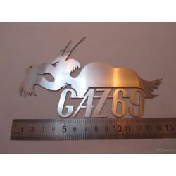 Логотип GAZ-69 Козёл маленький