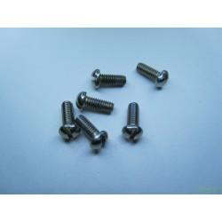Винт М4х10 крепления верхних и нижних частей рамы и вкладышей